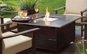Agio Panorama Patio Furniture Patio U0026 Pergola Magnificent Costco Fire Pit Table And Chairs