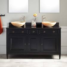 Black Bathroom Vanity With Sink by Vessel Sink Vanities