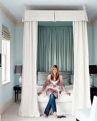 How To Decorate A Canopy Bed Best Bedroom Designs Martha Stewart
