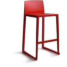 Height Of Stools For Kitchen by Furniture Red Contemporary Hanna Bar Height Stool Stools Kitchen