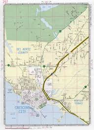 California City Map Crescent City Ca Map Image Gallery Hcpr