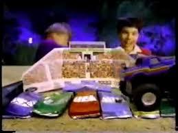 bigfoot monster truck game vintage 90 s bigfoot monster truck crunch arena toy commercial youtube