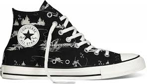 converse chuck taylor all star outdoor print black parchment egret