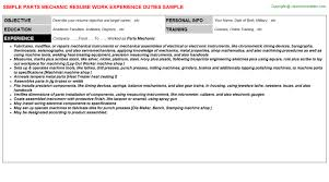 Storekeeper Resume Sample by Resume For Storekeeper