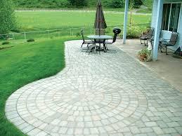 Paver Ideas For Backyard Backyard Patio Paver Design Ideas The Home Designs Simple