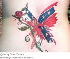 confederate tinkerbell tattoo design photos pictures and