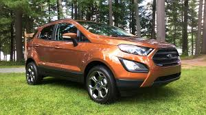 2018 ford ecosport canadian preview