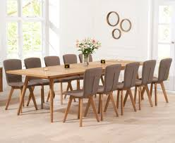 Cannes Dining Table Oak Dining Table Sets 8 Seater Great Furniture Trading Company
