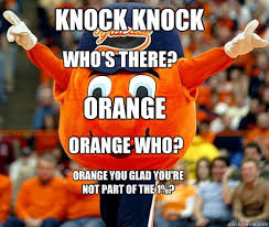 Orange Memes - knock knock who s there orange orange who orange you glad you re