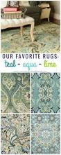 remodelaholic 20 green and blue area rugs you u0027ll love