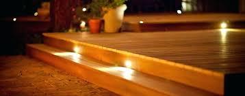solar led deck step lights extraordinary led step lights outdoor led step lights solar led deck