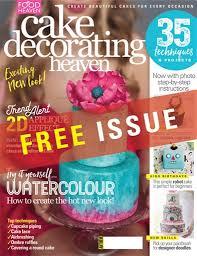 Cake Decorating Magazine Issues Cake Decorating Heaven Magazine Septemberoctober 2016