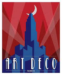site deco vintage art deco poster by ollywood on deviantart art deco pinterest