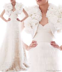 winter wedding dresses 2010 lucia hohan fall winter 2010 wedding gowns wedding inspirasi