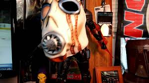 bandit mask halloween borderlands psycho bandit mask by neca review youtube
