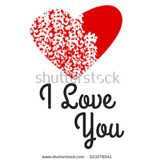vector holiday background hearts valentines day stock vector