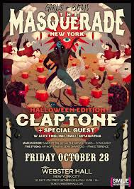 girls boys halloween u2013 the masquerade featuring claptone and