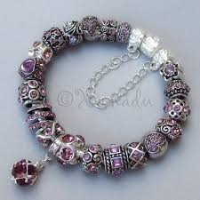 european bracelet images Genuine pandora bracelet with lavender alexandrite european beads jpg