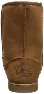 womens boots ugg style amazon com dawgs womens 9 inch faux shearling microfiber vegan