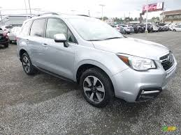 subaru forester 2018 2018 ice silver metallic subaru forester 2 5i limited 121928566