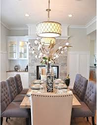 Light Fixtures Dining Room Ideas Drum Light Chandelier Dining Room With Good Furniture Net And 2