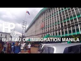 bureau d immigration bureau manila