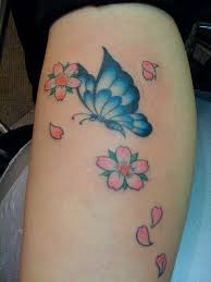 tiny butterfly ankle tattoo in 2017 real photo pictures images