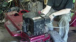 starting a 12 horsepower briggs and stratton youtube