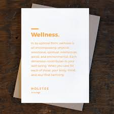 Your All Encompassing Guide To Wellness Kit Six Dimensions Holstee