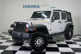 2010 used jeep wrangler 2010 used jeep wrangler unlimited 4wd 4dr mountain at haims motors