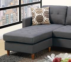 reversible sectional sofas reversible sectional sofa in blue grey fabric by boss