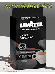 espresso ground coffee ground coffee lavazza caffe espresso 250g buy in kiev delivery