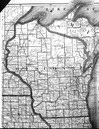 Map Of Wisconsin by Wisconsin County Map
