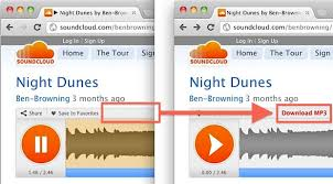 download mp3 soundcloud ios download soundcloud songs as mp3 with a bookmarklet