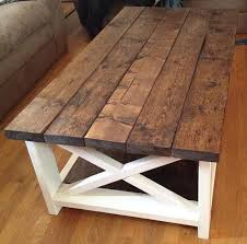 Wooden Coffee Table Rustic Coffee Table Attractive Gorgeous Farmhouse With