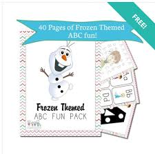 frozen themed printable worksheets abc u0027s math spelling