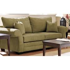 Klaussner Furniture Asheboro Nc Klaussner Holly Sofa In Willow Olive Fabric For 659 41 In