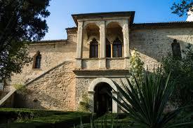 first floor in spanish petrarca u0027s house in arquà petrarca euganean hills