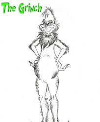 grinch coloring pages getcoloringpages com