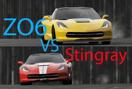 corvette z51 vs z06 top gear 2015 corvette zo6 vs 2014 corvette stingray