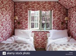 Small Teenage Bedroom Decorated With Paisley Wallpaper And by Paisley Wallpaper Stock Photos U0026 Paisley Wallpaper Stock Images