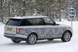 toyota land rover 2017 a tiny facelift for range rover u0027s biggest model in 2017 by car