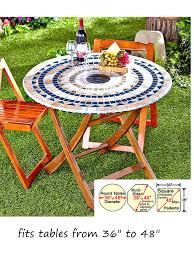 Tablecloth For Umbrella Patio Table Patio Table Tablecloth With Umbrella Designs