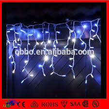 50cm led falling icicle lights outdoor led falling snow