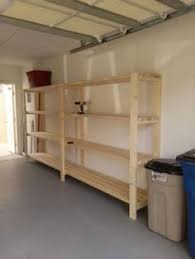 ana white build a easy and fast diy garage or basement shelving
