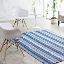Striped Indoor Outdoor Rugs by Couristan Bar Harbor Stripe Indoor Outdoor Rug Blueberry Crush