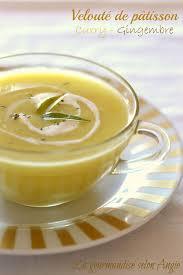 cuisine patisson velouté patisson au gingembre et curry zupy entrées