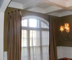 Curved Window Curtain Rods For Arch Accessories Curved Window Curtain Rod With Glorious Custom