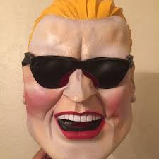 vintage 1980 u0027s max headroom rubber halloween mask hard to find