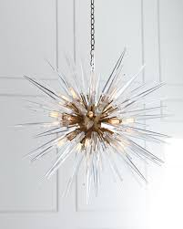 Horchow Chandeliers Visual Comfort Quincy Medium 20 Light Sputnik Pendant